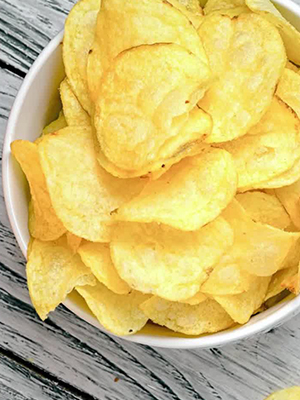 Potato Chips Make UK Teenager Go Blind